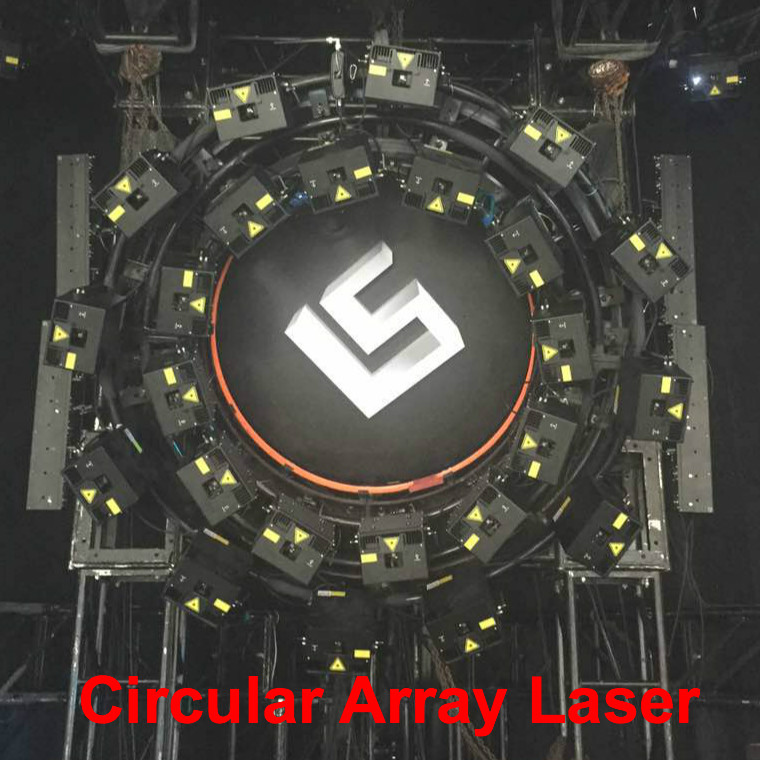 title='Circular Array laser'